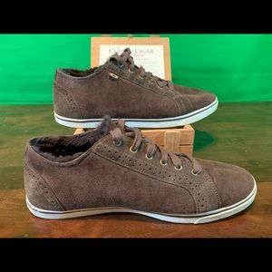 UGG Shoes - Ugg Roxford Twin Face Bomber Jacket Sneakers brown